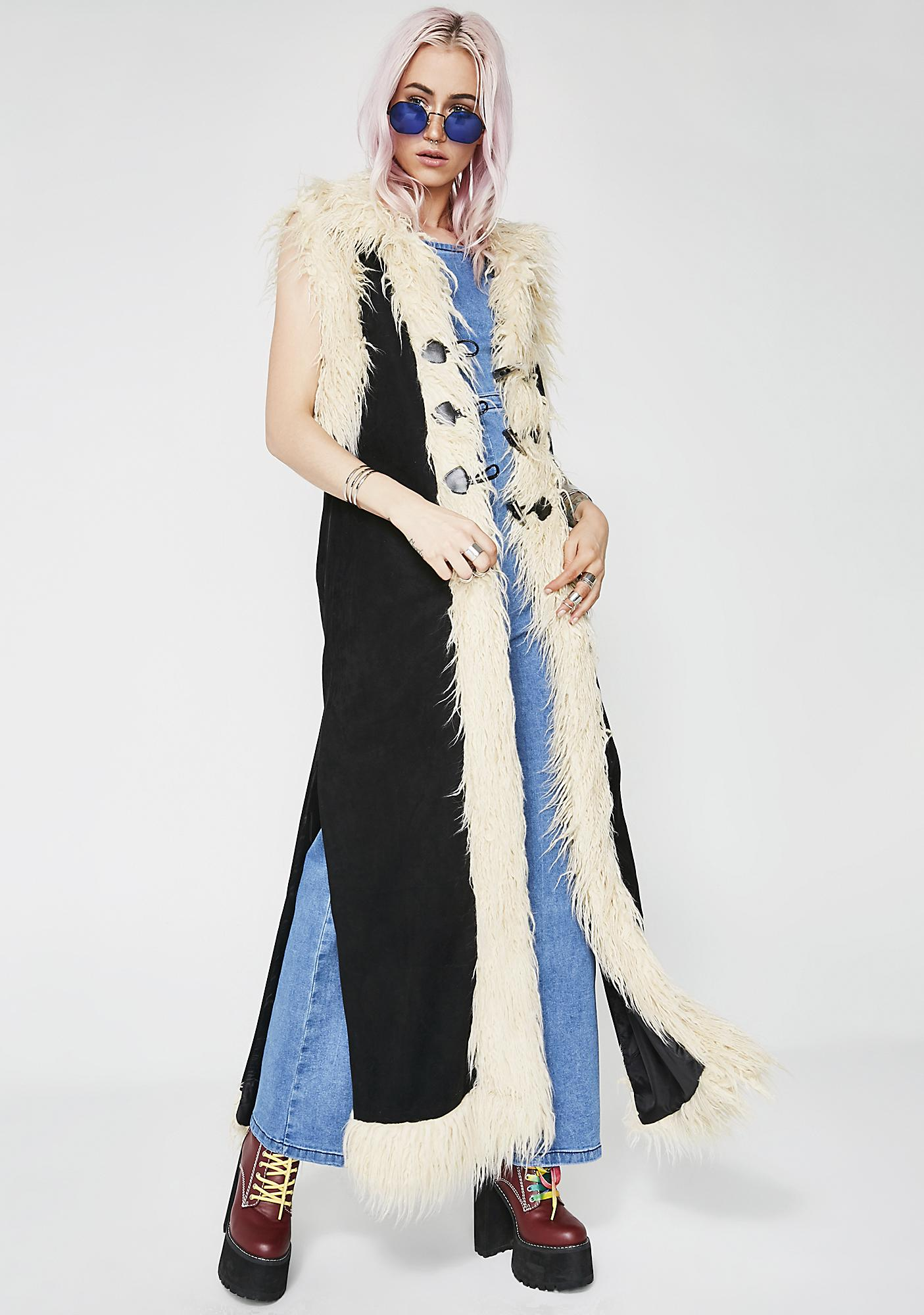 Current Mood Whirlwind Sleeveless Duster