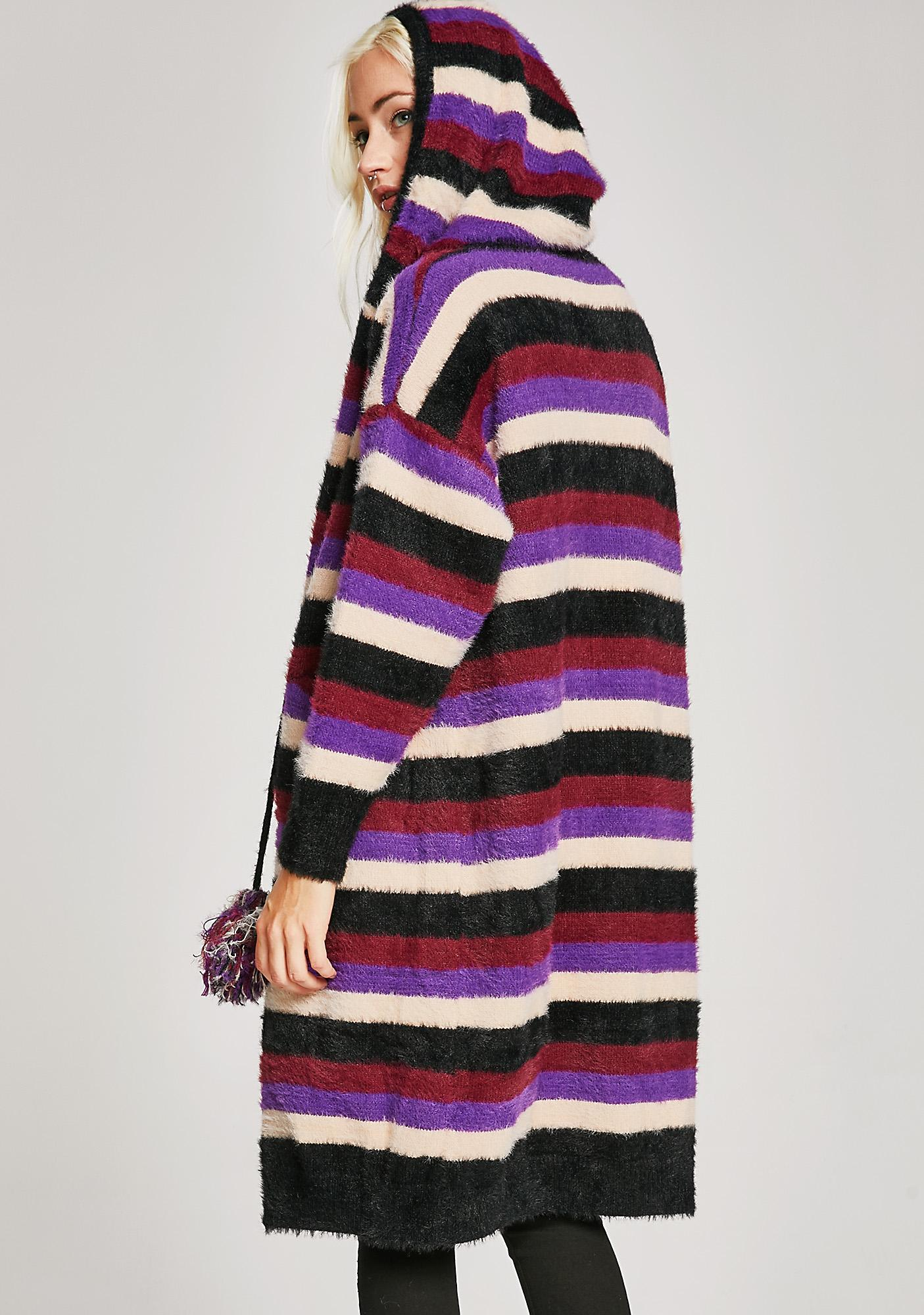 Cozy Town Stripe Cardigan
