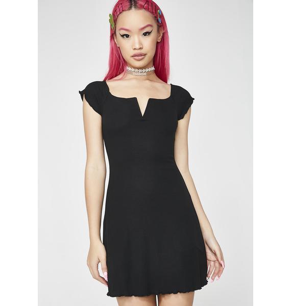 Gossip Queen Mini Dress
