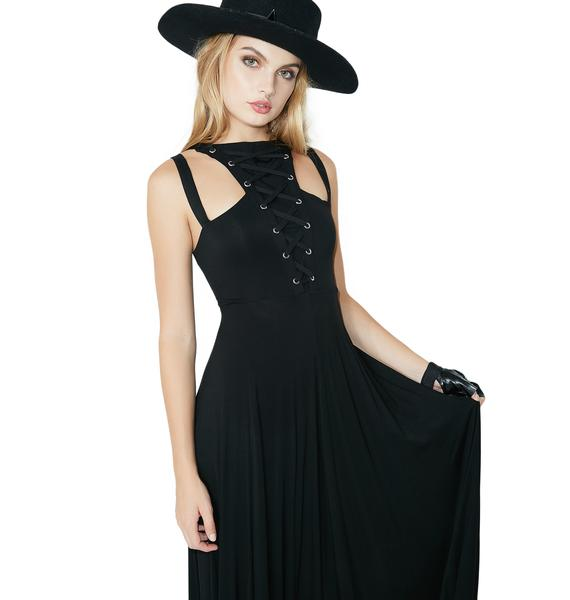Killstar Deimos Doom Maxi Dress