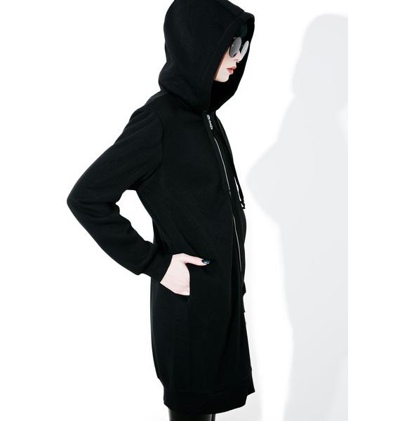 Glamorous Emily Long Zip-Up Hoodie