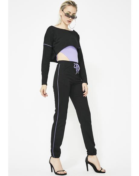 Werk It Girl Knit Sweatpants