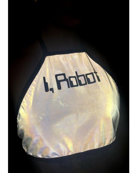 iRobot Reflective Halter Top