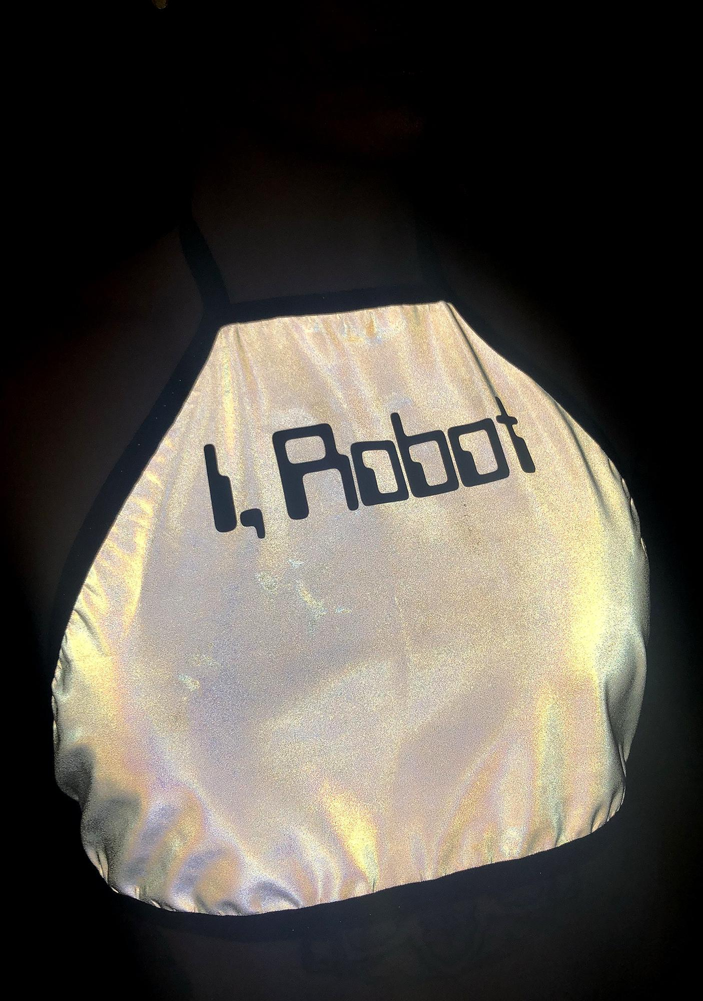 The Lyte Couture iRobot Reflective Halter Top