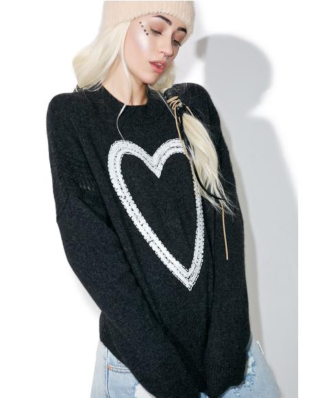 Glitz Heart Gainsborough Sweater