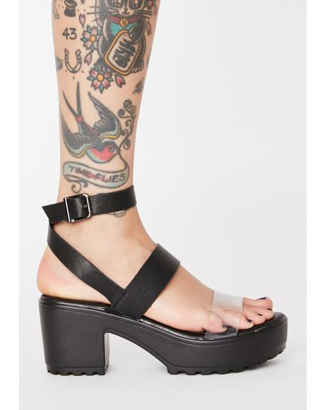 Here For It Platform Sandals