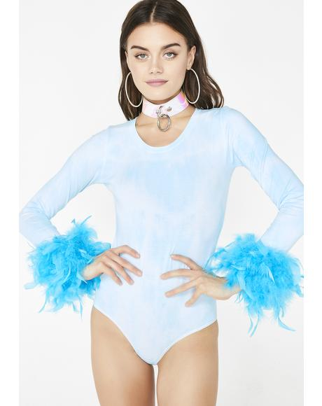 Electric Mermaid Bodysuit