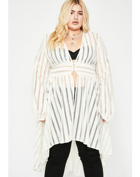 Icy Sassy Supreme Queen Sheer Jacket