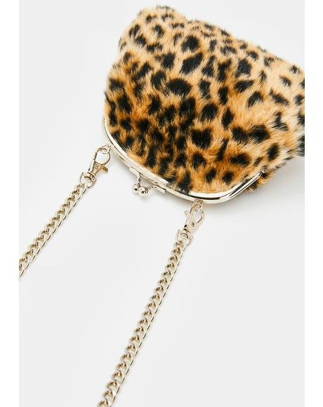 Feline Aristocracy Crossbody Purse