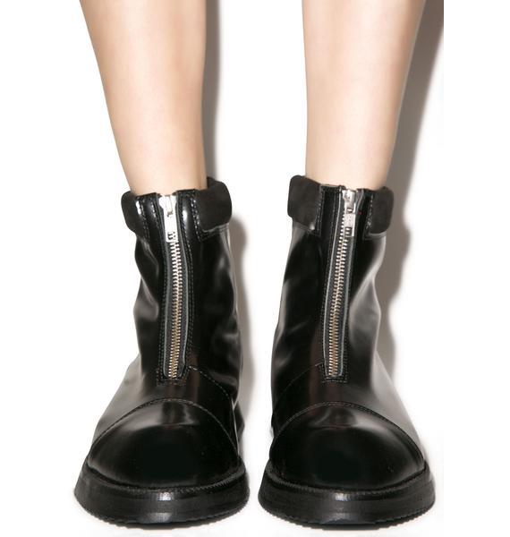 Irregular Choice Wolly Boot
