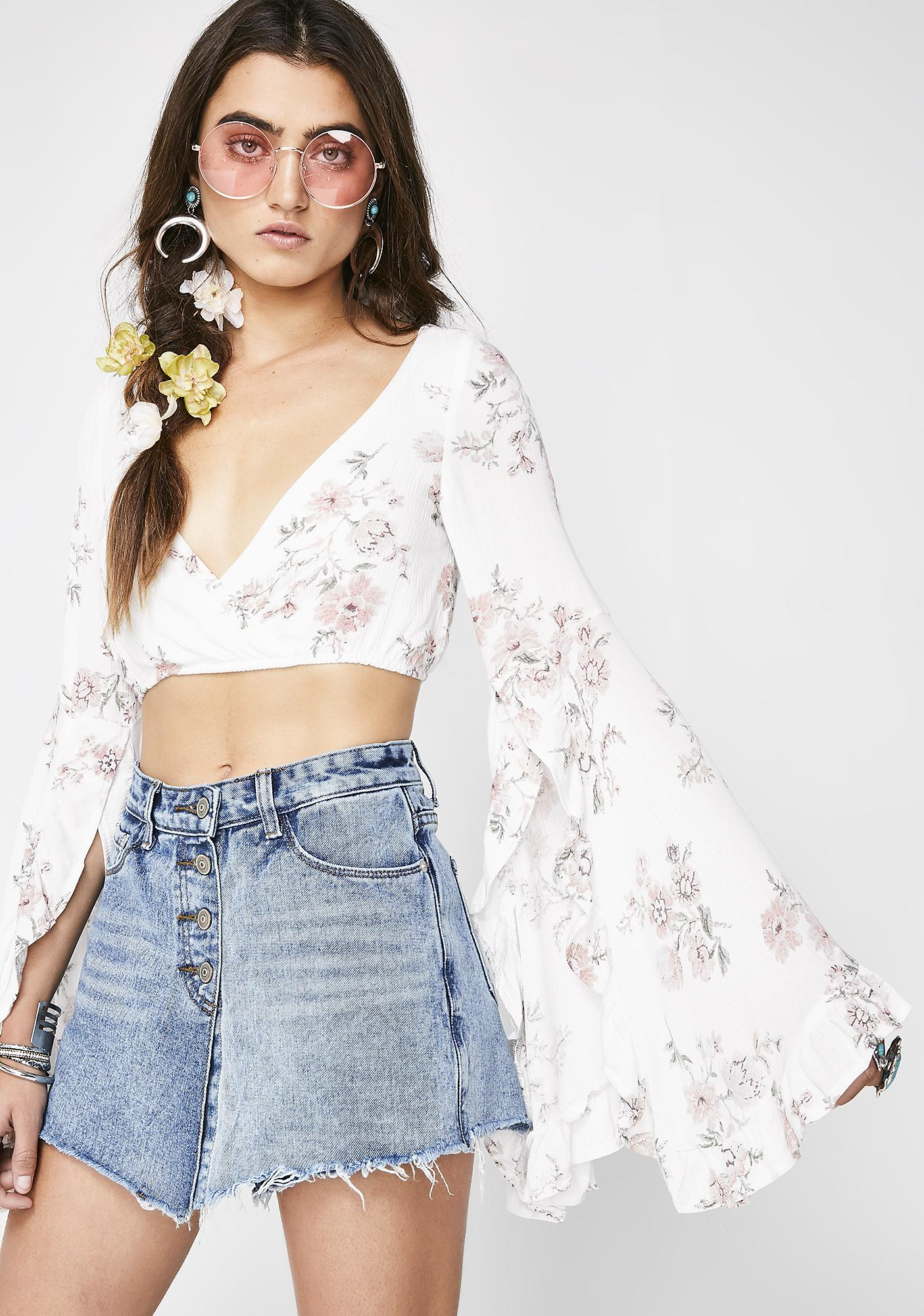 Party At The Moontower Boho Top