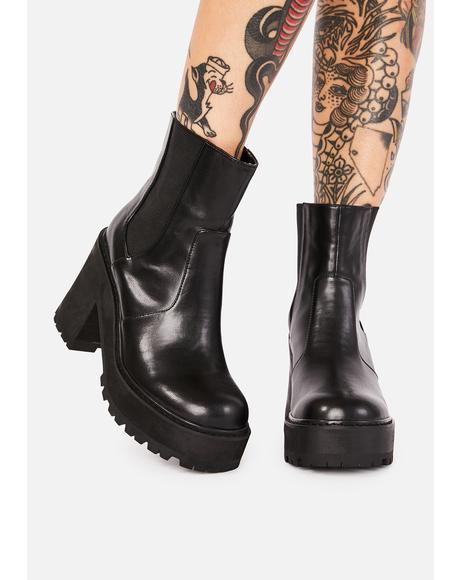 Rush Hour Platform Boots