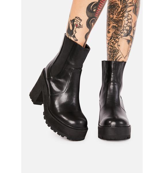 dELiA*s by Dolls Kill Rush Hour Platform Boots