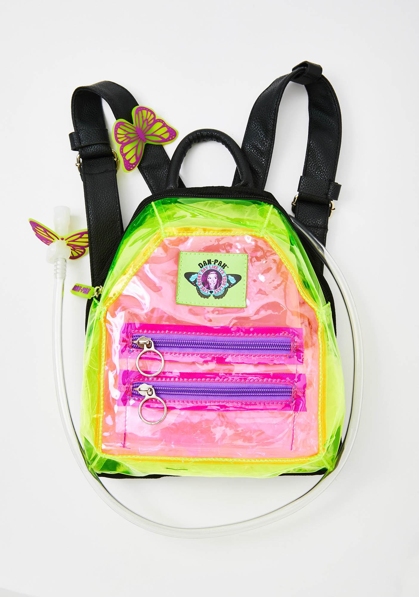 Dan-Pak Clearly Furry Mini Hydration Backpack
