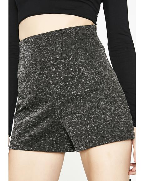 Sparkle Diet High Rise Shorts
