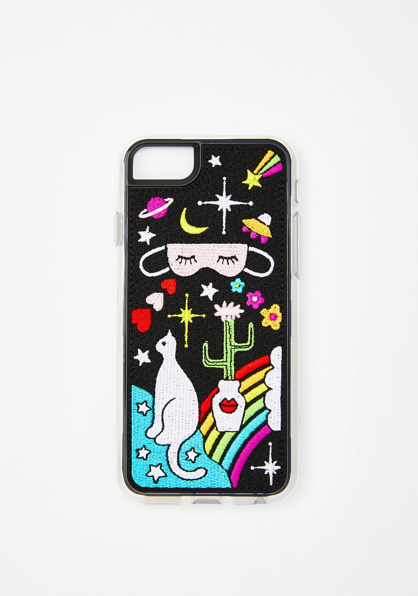 Zero Gravity Daydream Embroidered iPhone Case