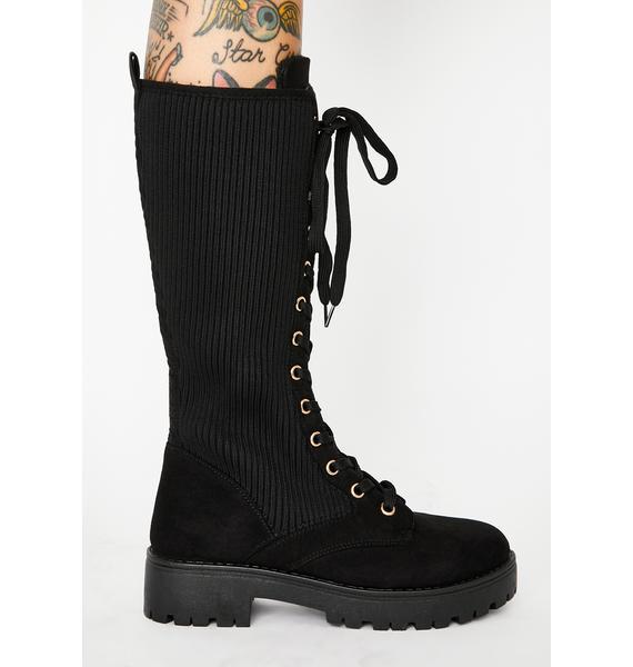Wild One Combat Boots