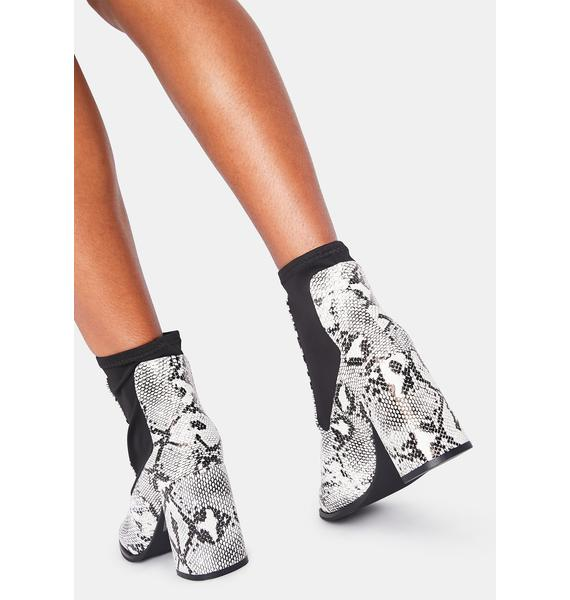 Toe The Line Ankle Boots