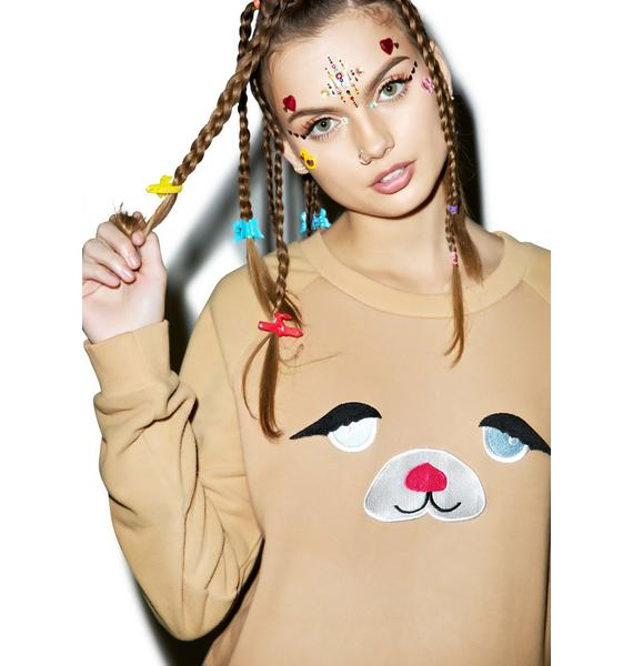 Little Sunny Bite Cherish This Face Sweater