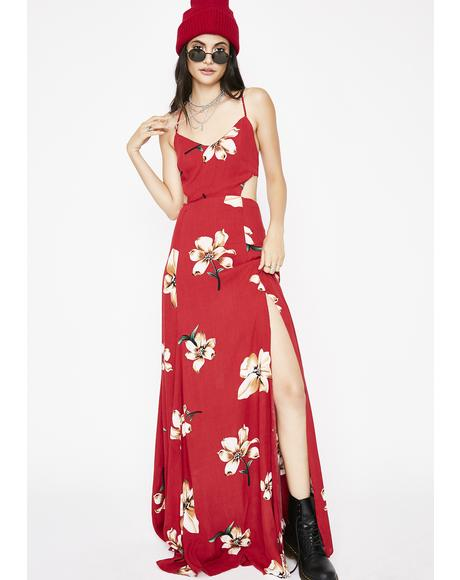 Tropic Haze Maxi Dress