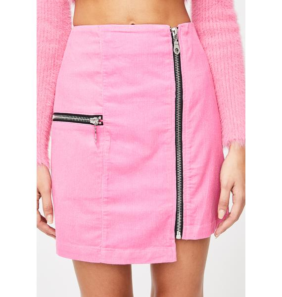 The Ragged Priest Plastic Mini Skirt