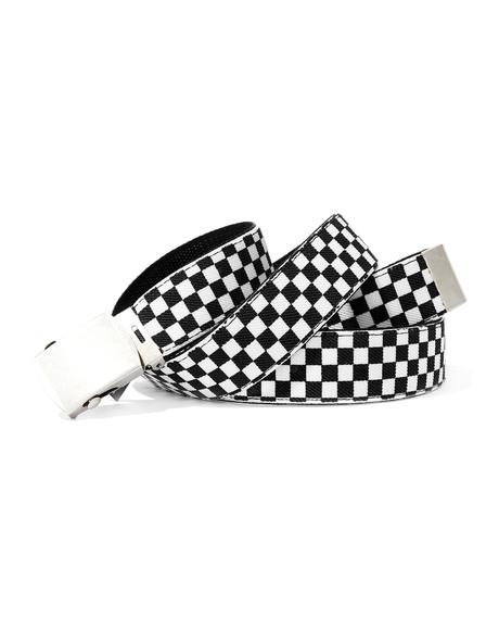 Defiance Checkered Belt