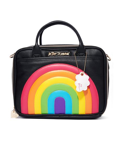 Rainbow Lunch Tote