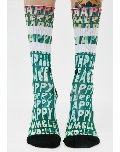 Lyons Xmas Socks