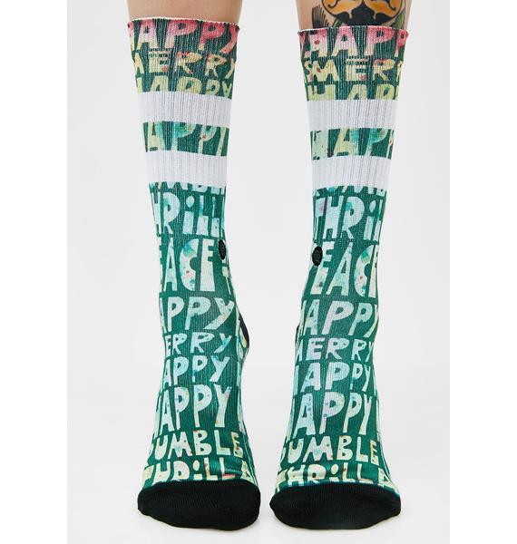 Stance Lyons Xmas Socks
