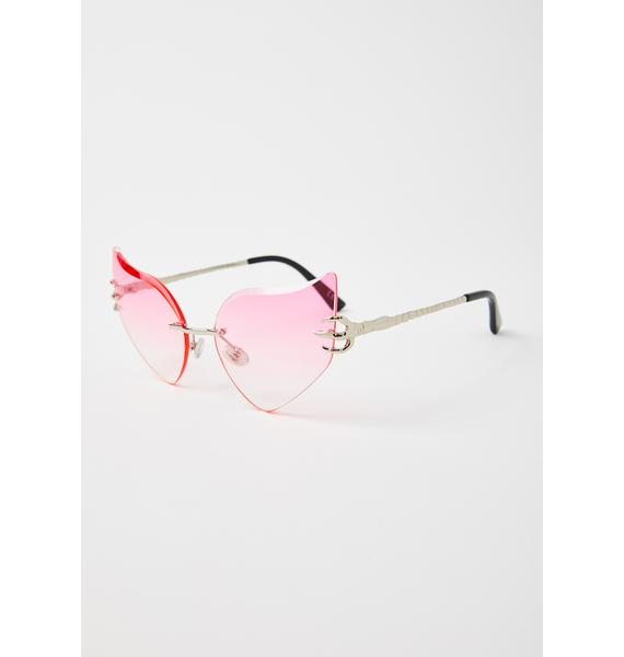 Celestial Sass Cat-Eye Sunglasses