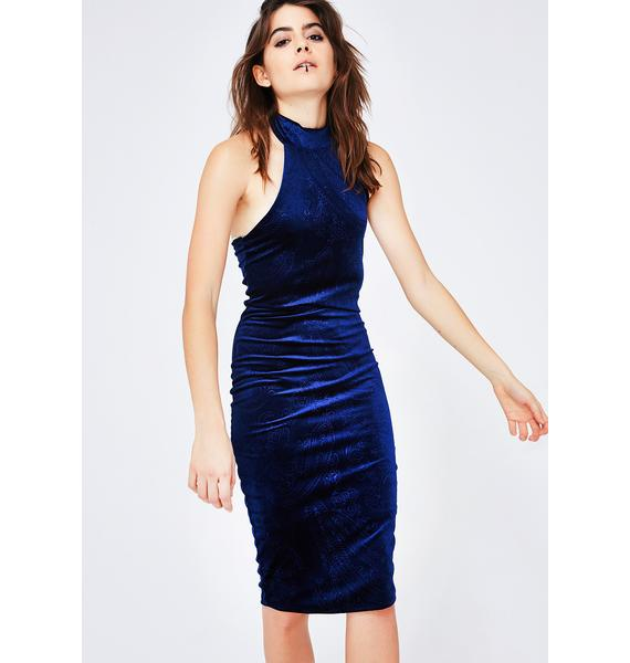 No Apologies Halter Dress