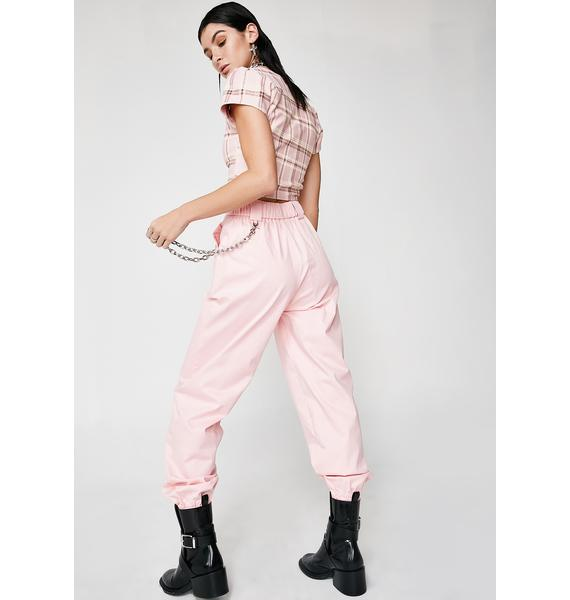 I AM GIA Pink Cobain Pants
