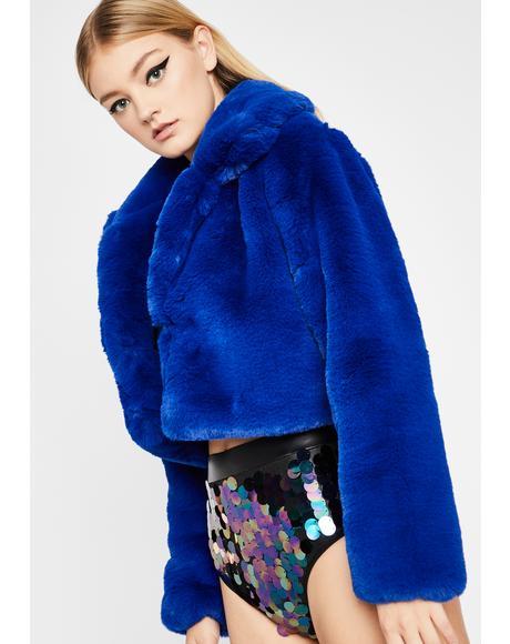 Pure Euphoria Faux Fur Jacket