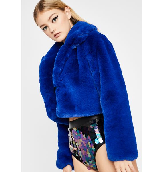 Pure Euphoria Faux Fur Jacket