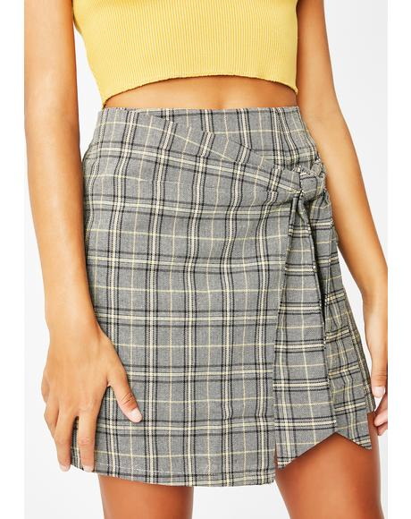 Top Knotch Plaid Skirt