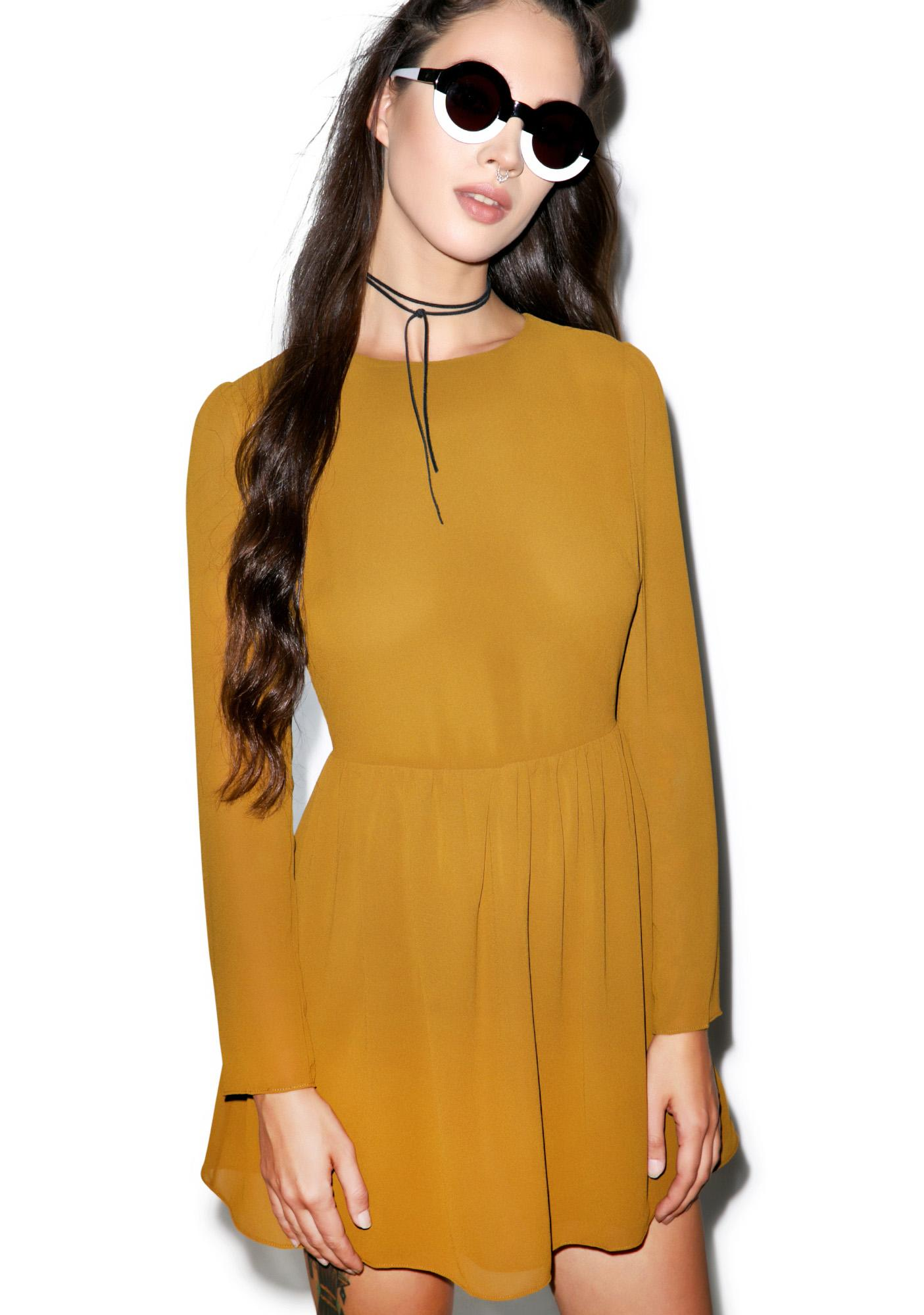 Glamorous Wonderfall Dress