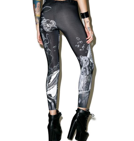 Long Clothing X Pussykrew Leggings