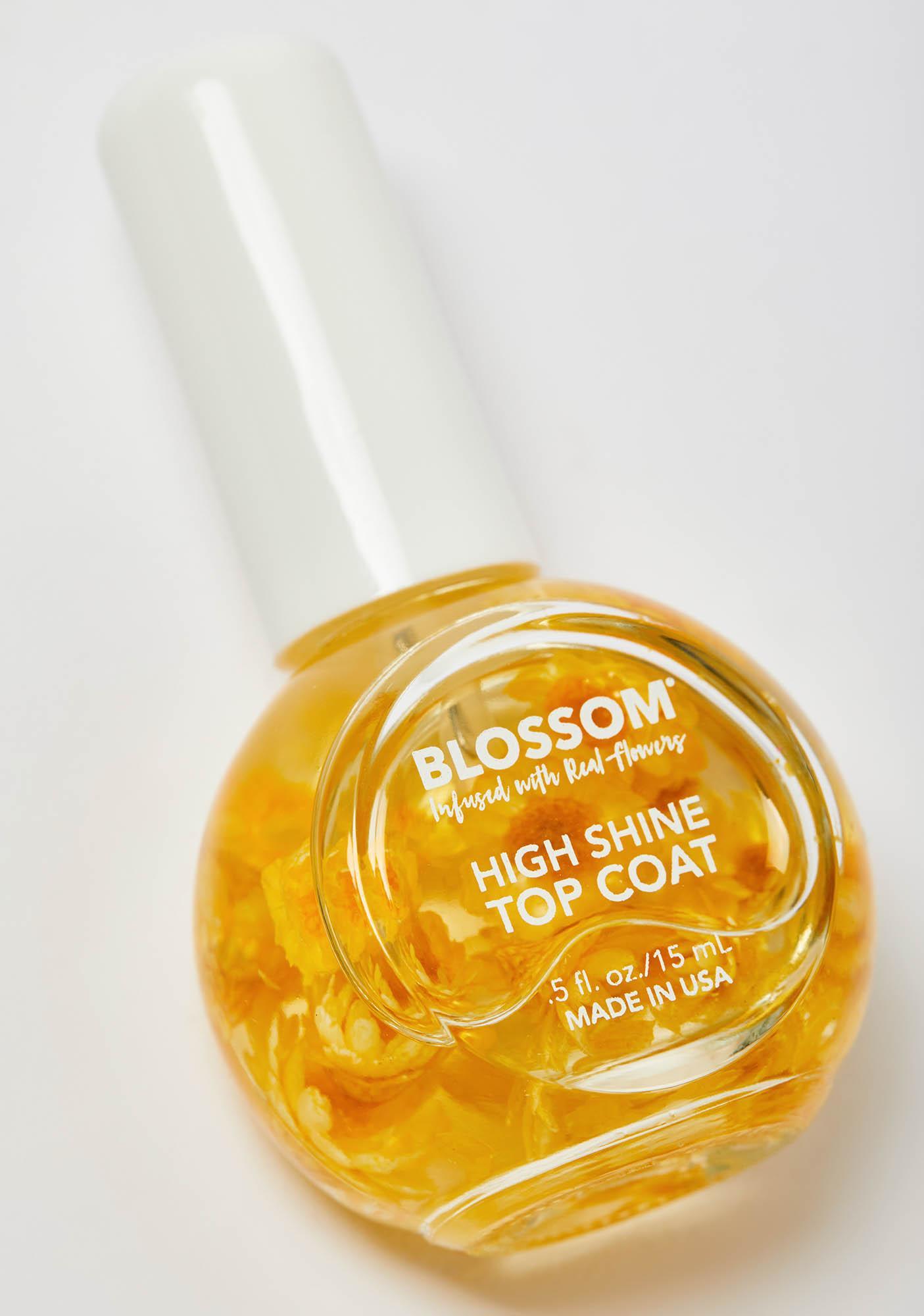 Blossom Yellow High Shine Top Coat
