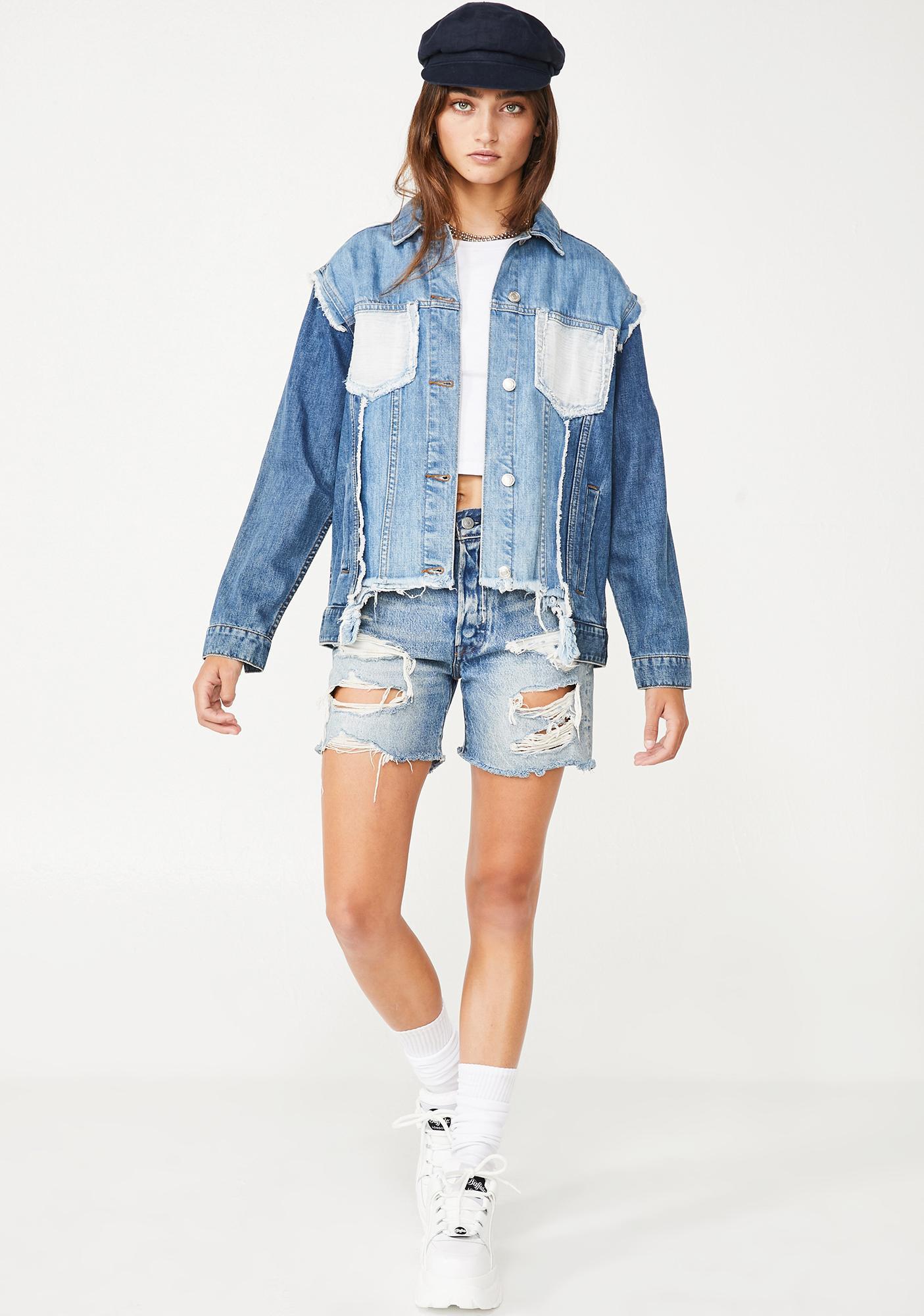 New City Sass Denim Jacket