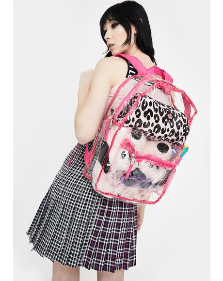 Pink All Clear Backpack