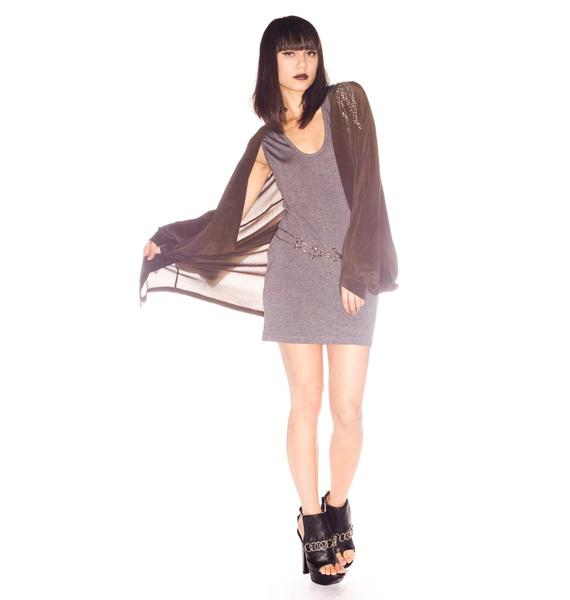 One Teaspoon Deception Silk Kimono