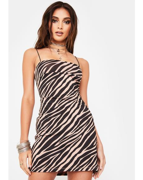 Animal Attraction Mini Dress