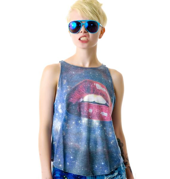 Wildfox Couture Kissing Under The Stars Cassidy Tank