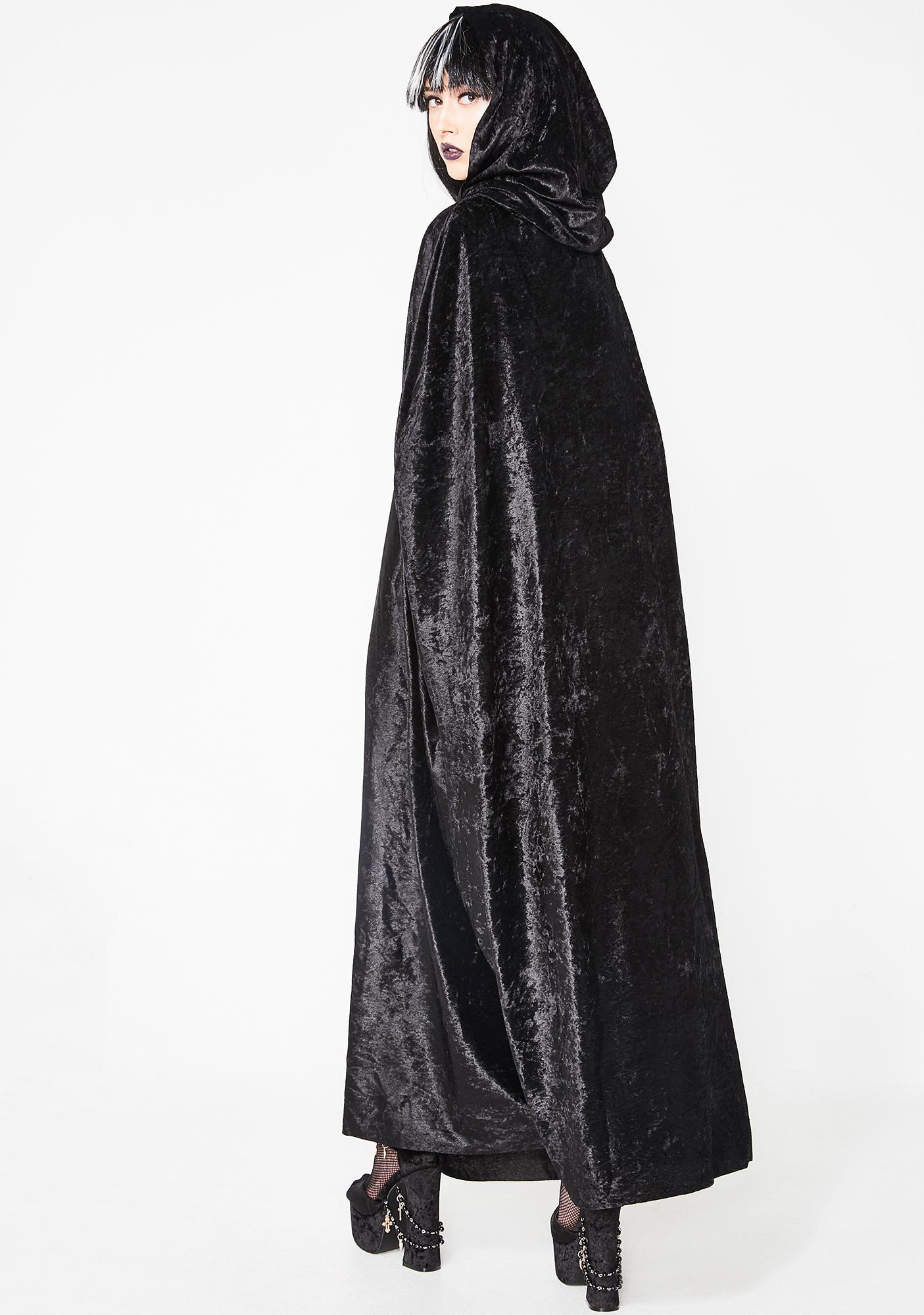 Practical Magick Velvet Cape