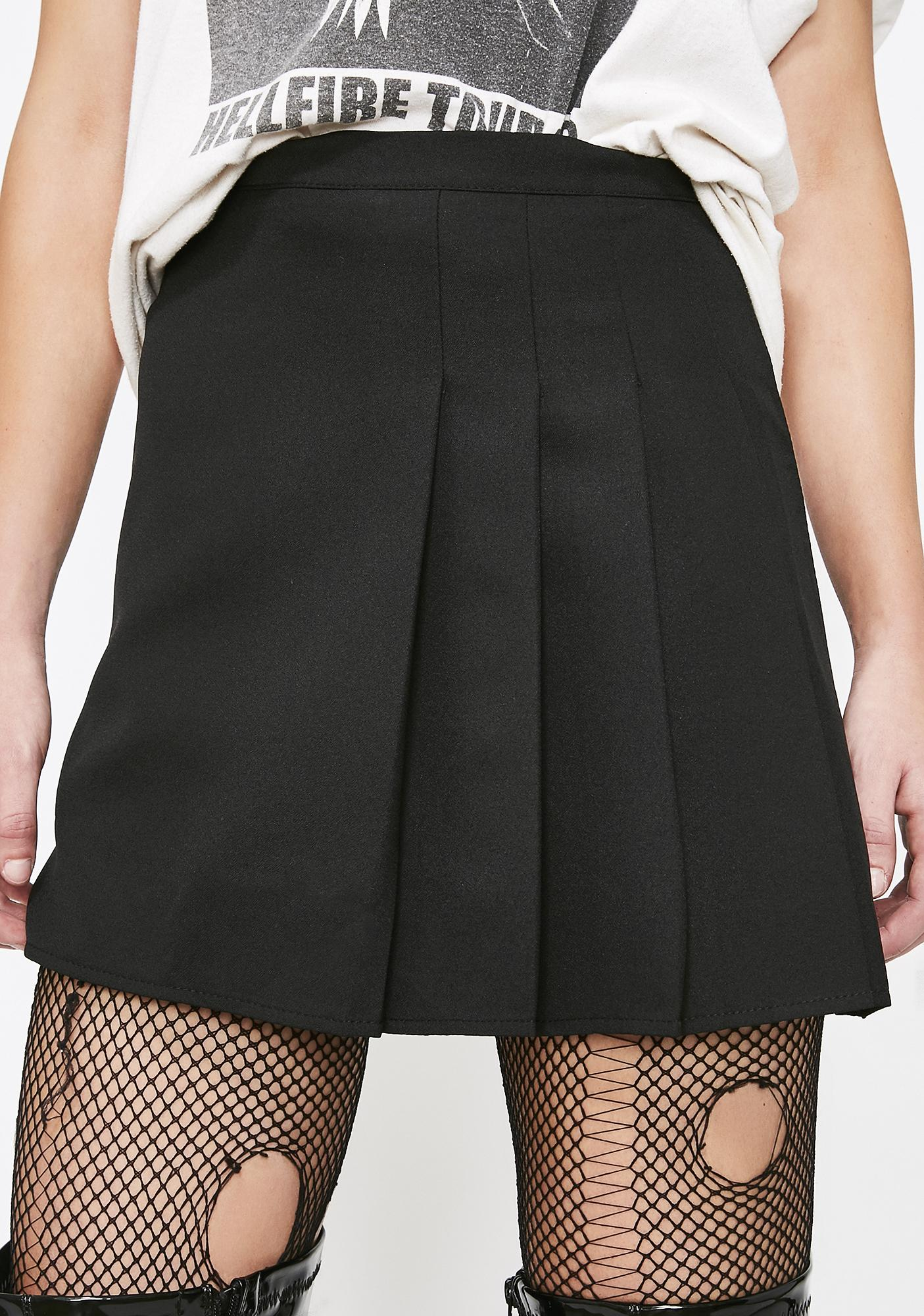 Onyx First Name Ashley Pleated Skirt