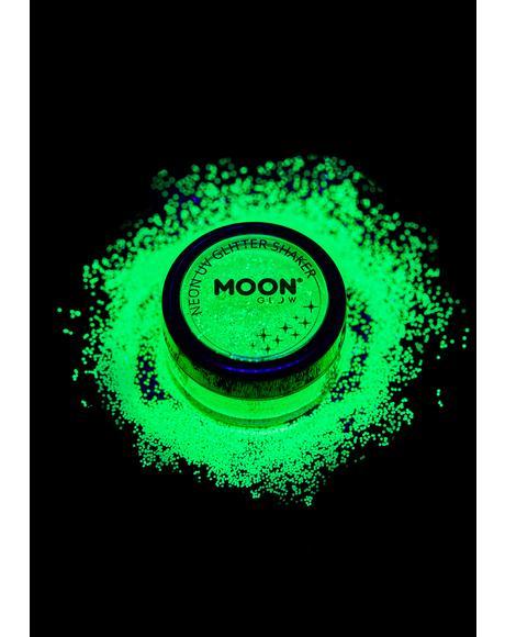 Neon Green UV Glitter Shaker