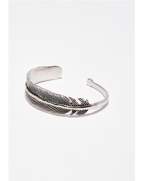 Flyin' Higher Feather Bracelet