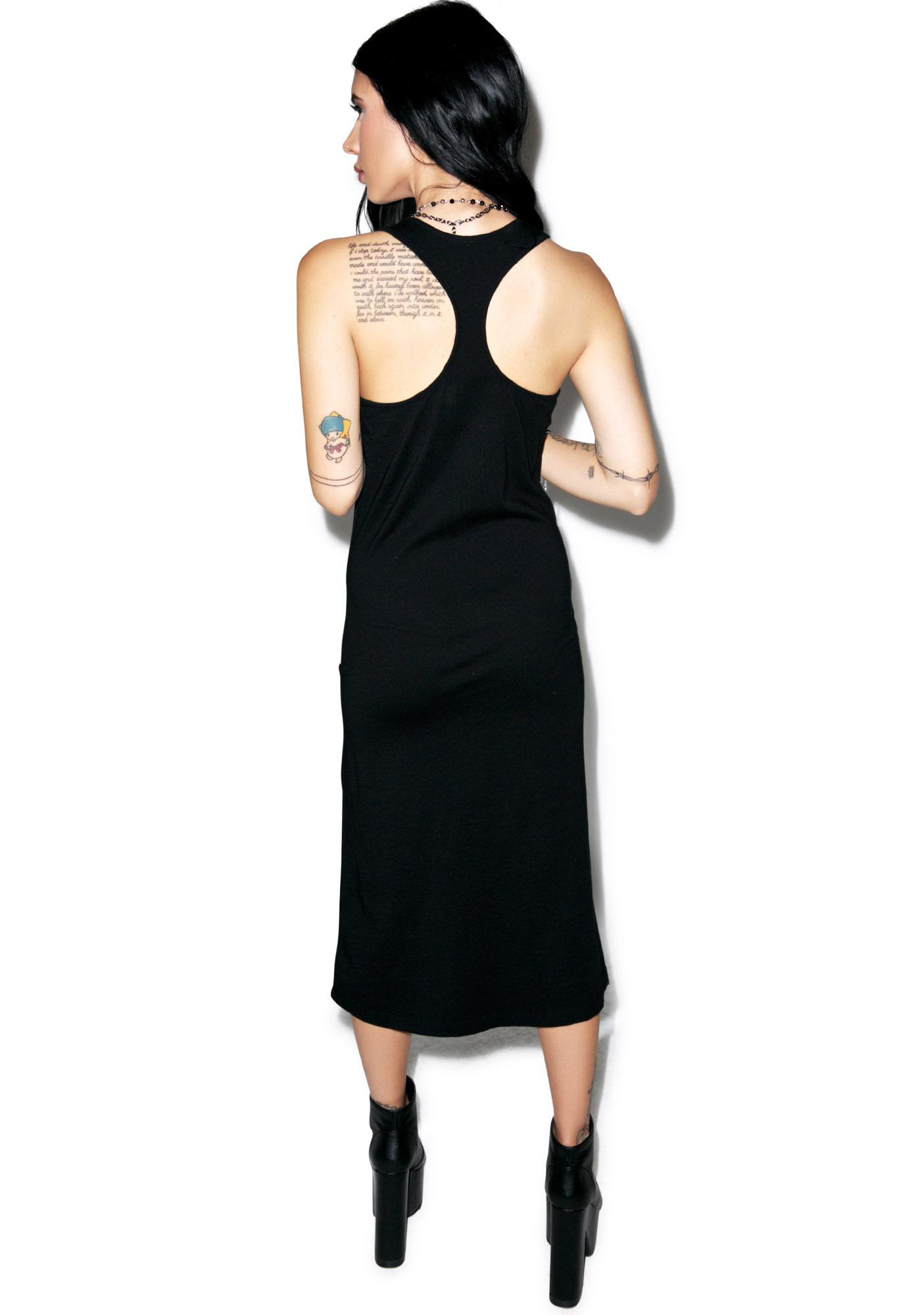 Disturbia Death Midi Dress