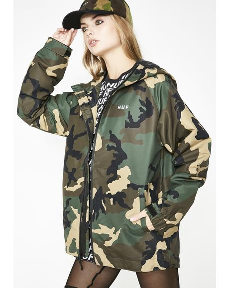 Camo Standard Shell Jacket