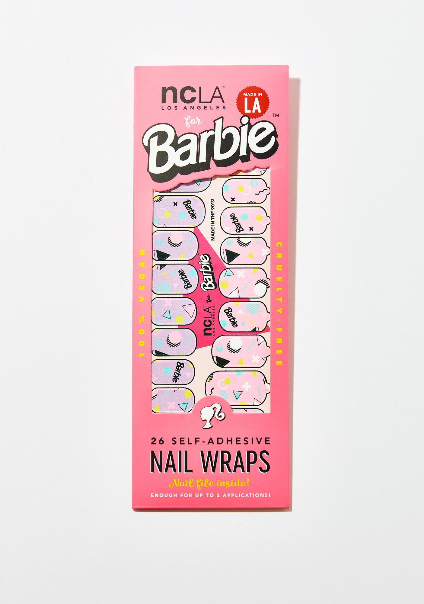 NCLA Made In The 90's Nail Wraps